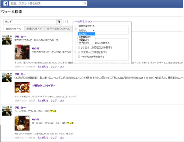 Fbwallsearch