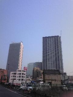 コジタワーと青空