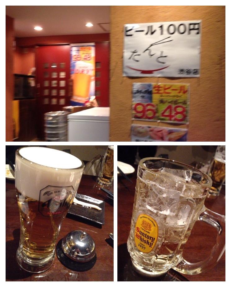 100円ビールと真の漢
