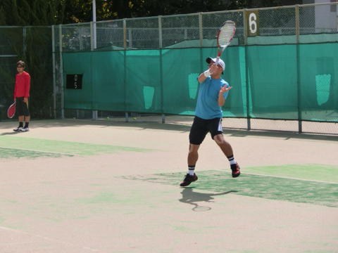 昨日は昭和の森、今朝は有明テニスの森