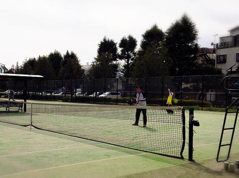 テニス杉並リーグ最終戦