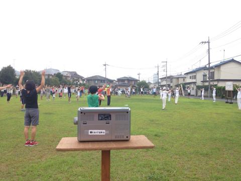 今朝のトレーニング_φ(・_・