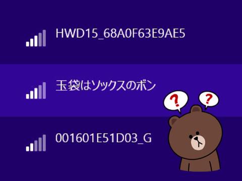 Wi-Fi玉袋