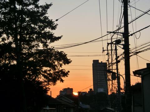 練馬の夜明け