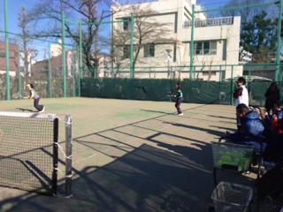 テニスと懇親会