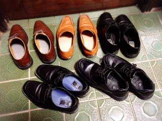 思い立ったら靴磨き☆