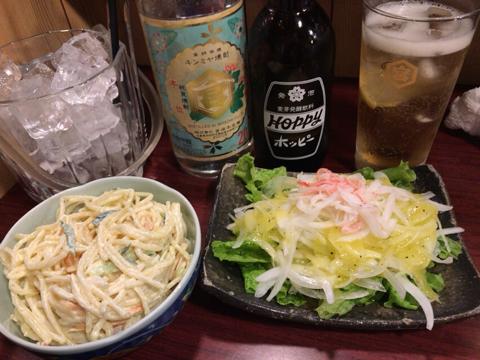 昨夜の麺トレと今朝の筋トレ_φ(・_・
