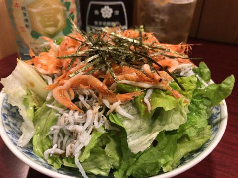 桜えびとシラスのサラダ(静岡県産)