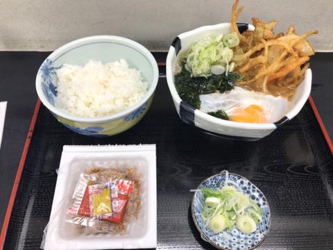 昨日の麺トレと今朝の筋トレ
