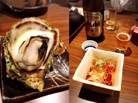 ビールをチェイサーに日本酒
