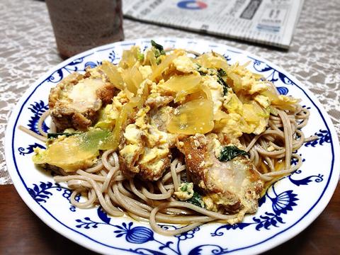 朝カツと麺トレ