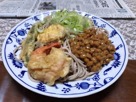 今朝の麺トレと筋トレ