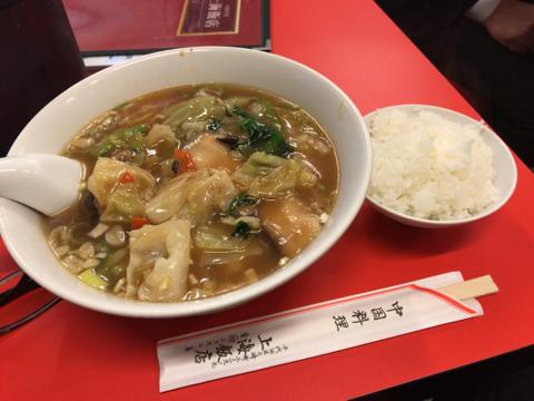 今日の麺トレは椎茸そば 750円
