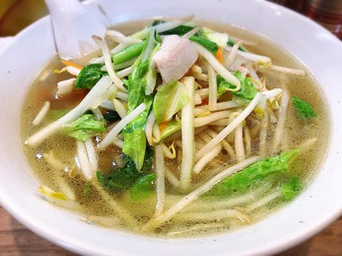休肝日の麺トレ