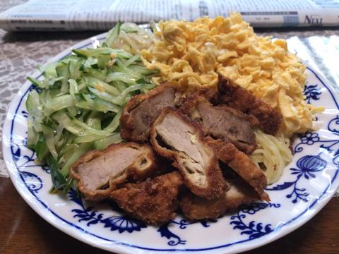 今朝の麺タルトレーニング