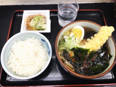 今朝のプールと麺トレ