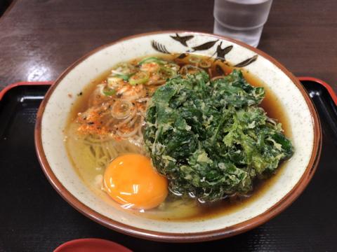 休肝日と麺トレ